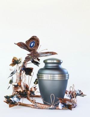 Jardin Papillon avec Urne