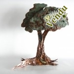 Christine Jean Artiste Québec Canada cuivre verre arbre château Frontenac sculpture soudure  Urne funéraire cendre